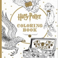 Harry Potter Coloring Book CLR CSM
