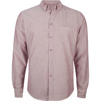 Retrofit Fresh Mens Oxford Shirt Red  In Sizes