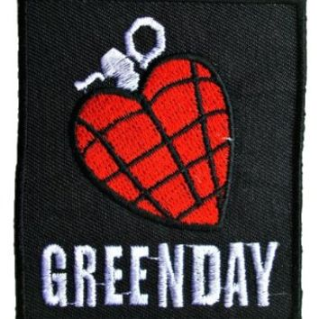Greenday Songs Music Band Logo t Shirts MG10 Iron on Patches