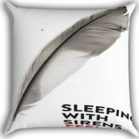 Sleeping with sirens FEEL Zippered Pillows  Covers 16x16, 18x18, 20x20 Inches