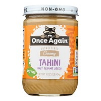 Once Again - Tahini Sesame - Case Of 6-16 Oz