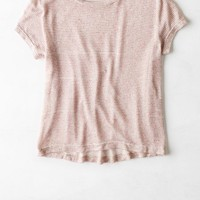 AEO Women's Don't Ask Why Feather Light Baby T-shirt