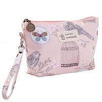 Roomy Cosmetic Bag Fashion Women Makeup Bags Waterproof Cosmetics Bag For Travel Lady Tote Washing Toiletry Pouch Bags