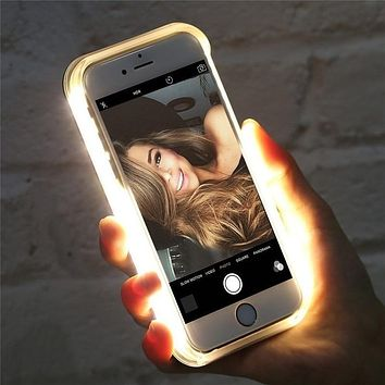 iPhone LED Selfie Phone Case