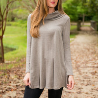 Something So Right Dress, Taupe