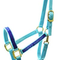 Saddles Tack Horse Supplies - ChickSaddlery.com Personalized Monogrammed Nylon Halter