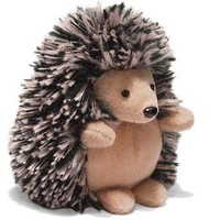 "GUND - Qwilly the Porcupine 3"" - Light Brown with exposed Belly, by Enesco"