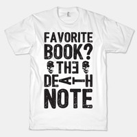 Favorite Book? The Death Note