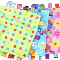 Children Baby Kawaii Taggies Colors Blanket Comforter Kids Boys Girls Toys Towel Blacnkets Towels