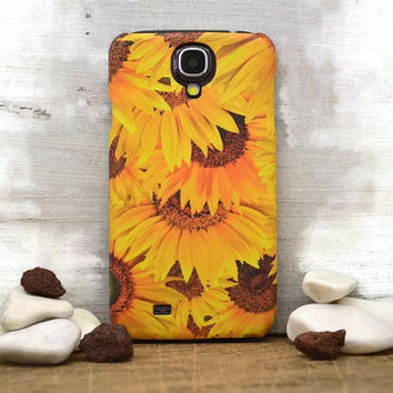 S4 Sun Flowers Floral i6 case / iphone 6 plus case / floral Samsung galaxy S6 case, Samsung galaxy S4 case / iphone 4 5 5C, S4 note 3 note 4