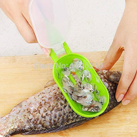 New 2015 Kitchen Helper Practical Fish Scale Scraper Kitchen Supplies Cooking Tools fishing peeler 4 Colours = 1741674180