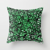 trava v.4 Throw Pillow by Trebam | Society6
