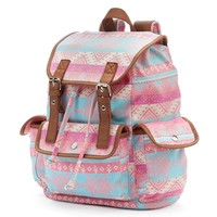 Candie's Anna Aztec Cargo Backpack (Pink)