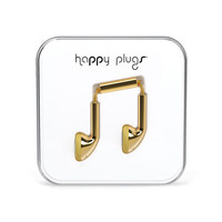 Happy Plugs Earbuds Gold One Size For Men 24796862101