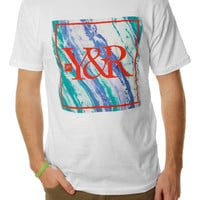 Young & Reckless Men's Square Tidal Wave Short Sleeve Graphic T-Shirt