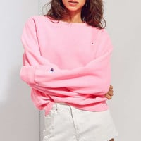 Champion + UO Pigment Dye Pullover Sweatshirt   Urban Outfitters