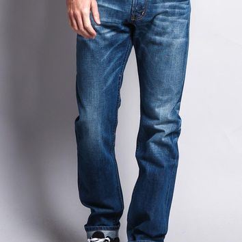 Men's Straight Fit Selvedge Jeans