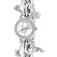 Women's Game Time Watches 'College - University of South Florida' Charm Bracelet Watch, 23mm