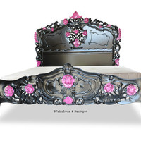 Fabulous and Baroque — Fabulous & Rococo - Black & Pink Lacquer - Fabulous and Baroque