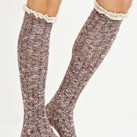 Crochet Knee-High Socks