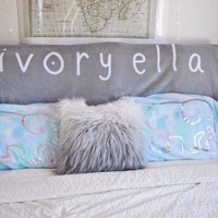 Watercolor Pillow Case Set