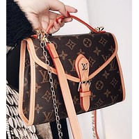 Bunchsun LV Louis Vuitton Women Fashion Leather Handbag Tote Crossbody Satchel Shoulder Bag