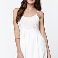 LA Hearts Embroidered Side Inset Dress at PacSun.com
