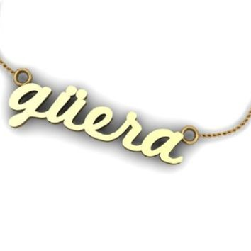 güera necklace