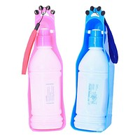 New Folding Pet Water Bottle For Pet Travel