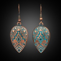 Boho Ethinic Dangle Drop Earrings Hanging for Women Vintage Bohemian Style Jewelry Accessories Fashon Women's Earrings 2018