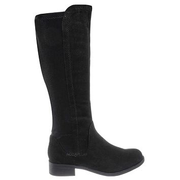 Cheese Knee High Elastic Riding Boots