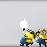 Macbook/Pro/Air Decal Sticker Despicable Me by MacSkinz on Etsy