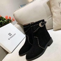 Givenchy  Women Casual Shoes Boots fashionable casual leather Women Heels Sandal Shoes