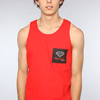 Diamond Supply Co. The OG Sign Tank in Red : Karmaloop.com - Global Concrete Culture
