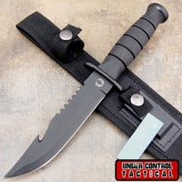 "Best Bowie ""Rambo"" Knife - Special Military / Navy Seal Edition"