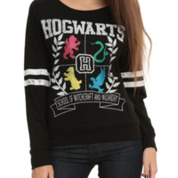 Harry Potter Hogwarts Girls Pullover Top