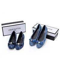 Louis Vuitton LV Fashionable Women Casual Flat Single Shoe