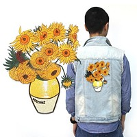 Sunflowers Iron-On Patch