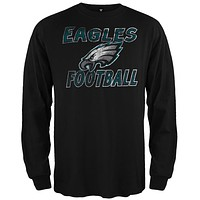 Philadelphia Eagles - Flanker Logo Premium Long Sleeve T-Shirt