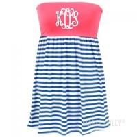 Monogrammed Swimsuit Cover Up | Marleylilly