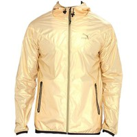Gold Puma Windbreaker Jacket