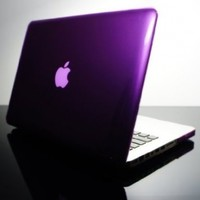 """TopCase PURPLE Crystal See Thru Hard Case Cover for Macbook Pro 13-inch 13"""" (A1278 / with or without Thunderbolt) -NOT for retina display- with TopCase Mouse Pad"""