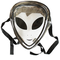 Clear Alien Jelly Backpack