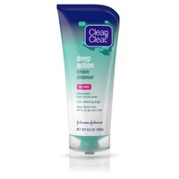 Clean & Clear Deep Action Cream Cleanser For Face, 6.5 Oz. - Walmart.com