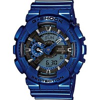 Casio G-Shock Big Case - Metallic Blue Case and Strap - Magnetic Resistant