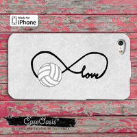 Volleyball Love Infinity Symbol Tumblr Cute Custom iPhone 4 and 4s Case and iPhone 5 and 5s and 5c Case and Wallet Case and iPhone 6 and 6+