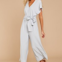 Ideal Type Grey Jumpsuit