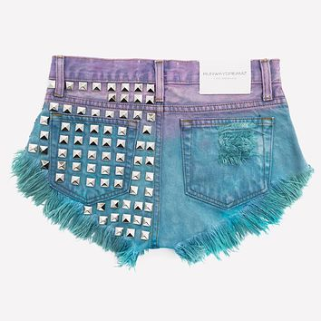 Dangers Gypsy Ombre Wildest Vintage Shorts