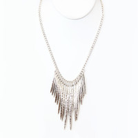 Silver Amazonia Necklace - Necklace