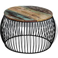 Coffee Table Round Solid  Wood